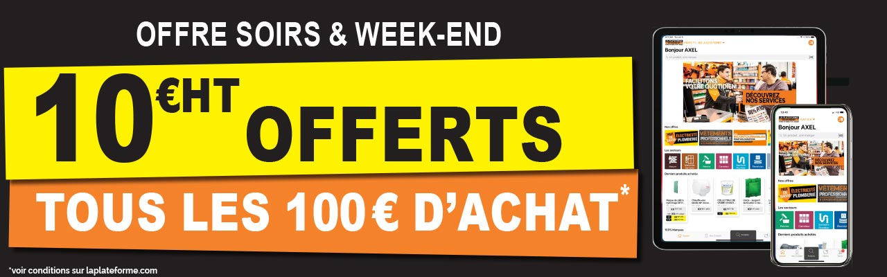 Offre Soirs et Weekends