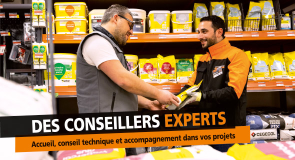 Des conseillers experts