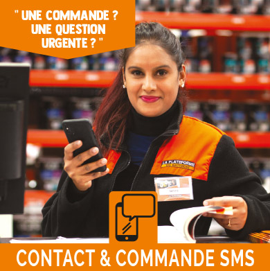 Contact & commande SMS